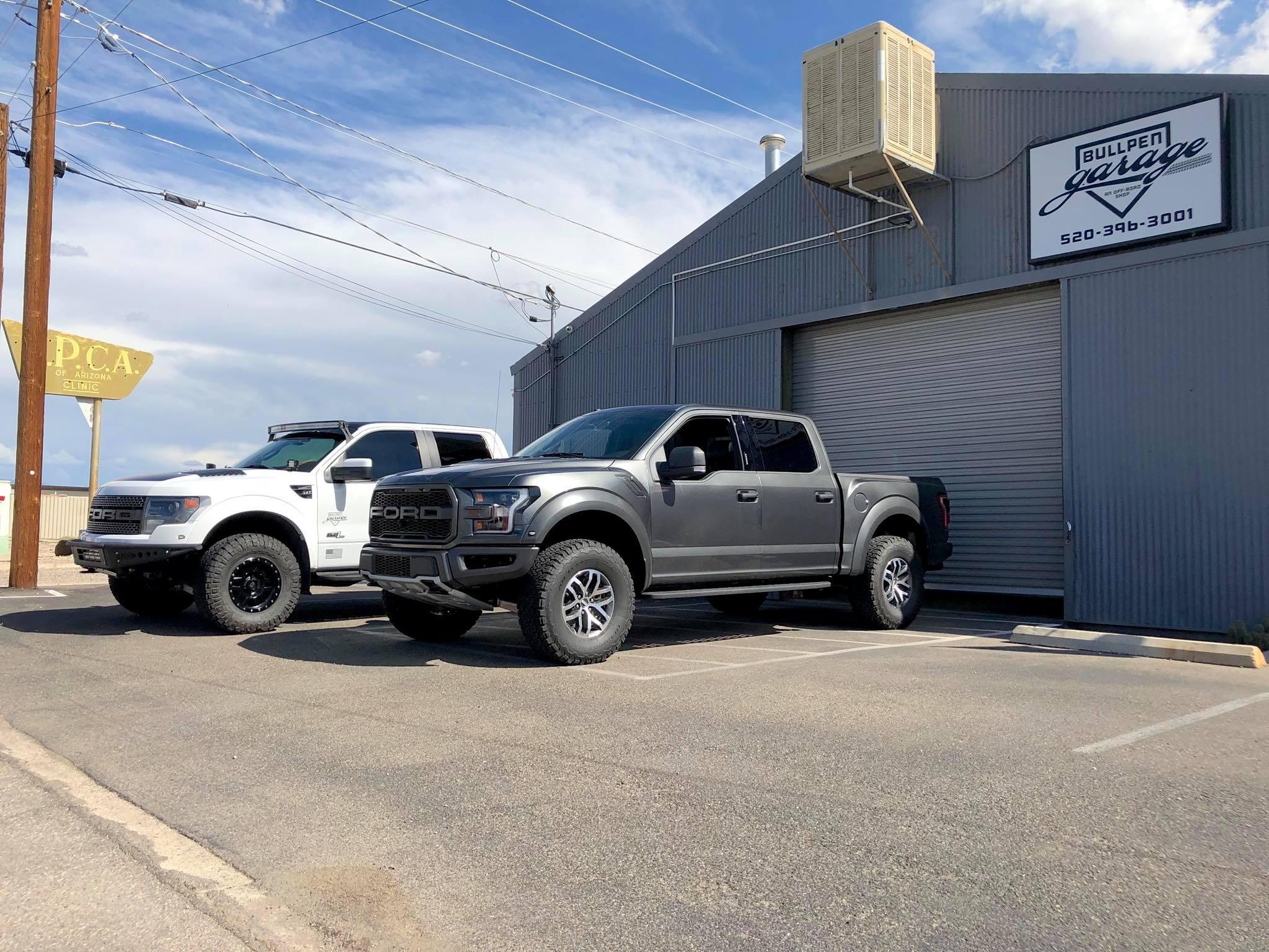 Raptor Bullpen Garage