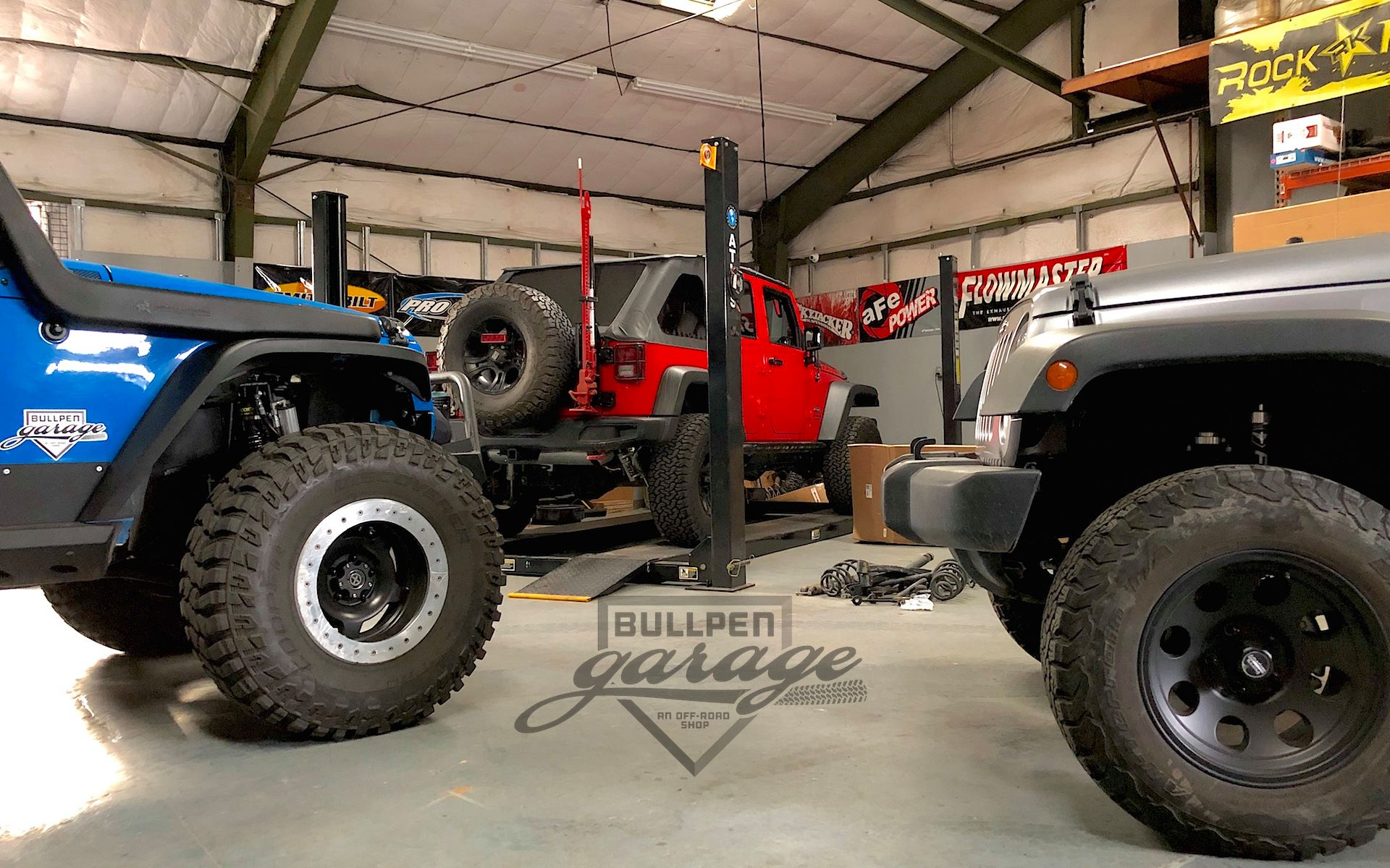 Jeep at Bullpen Garage