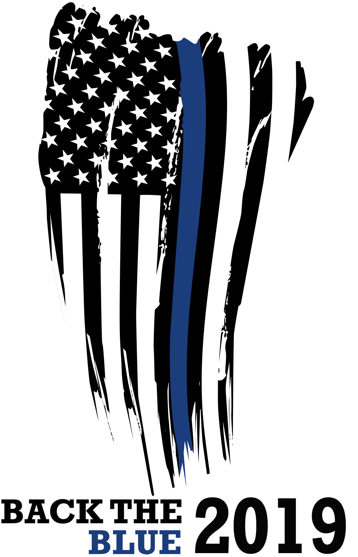 Back the Blue 2019 Flag