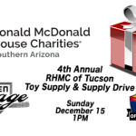 2019 Ronald McDonald House Tucson Toy & Supply Drive